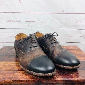 Robert Wayne Shoes - Robert Wayne Dress Mens Leather Shoes Brown 13D